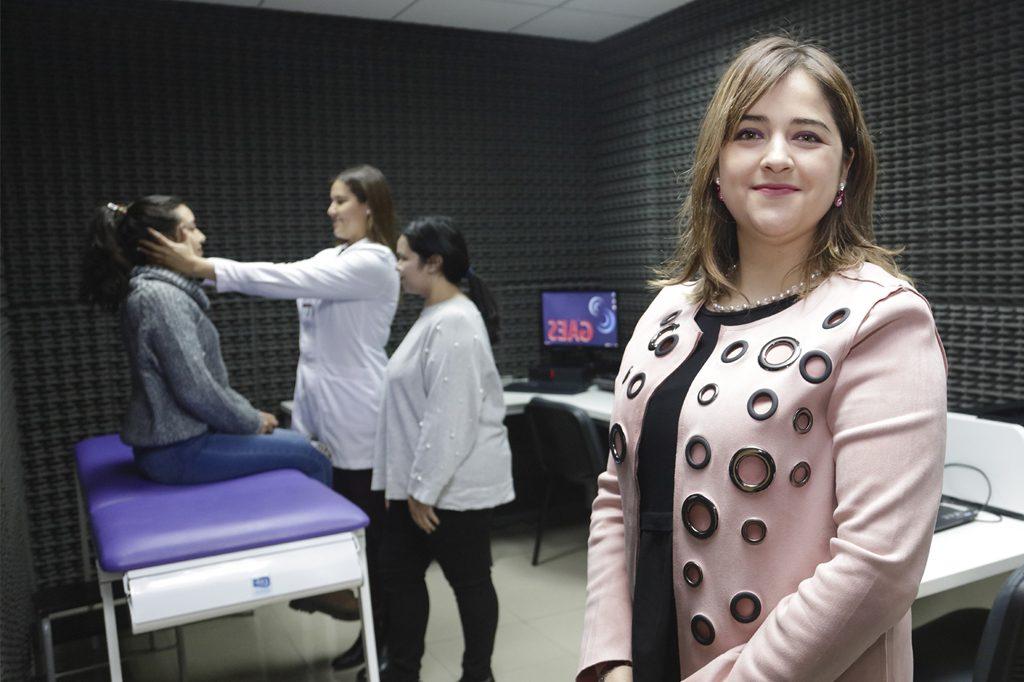 YOLANDA MALDONADO, Directora de Fonoaudiología (Concepción).