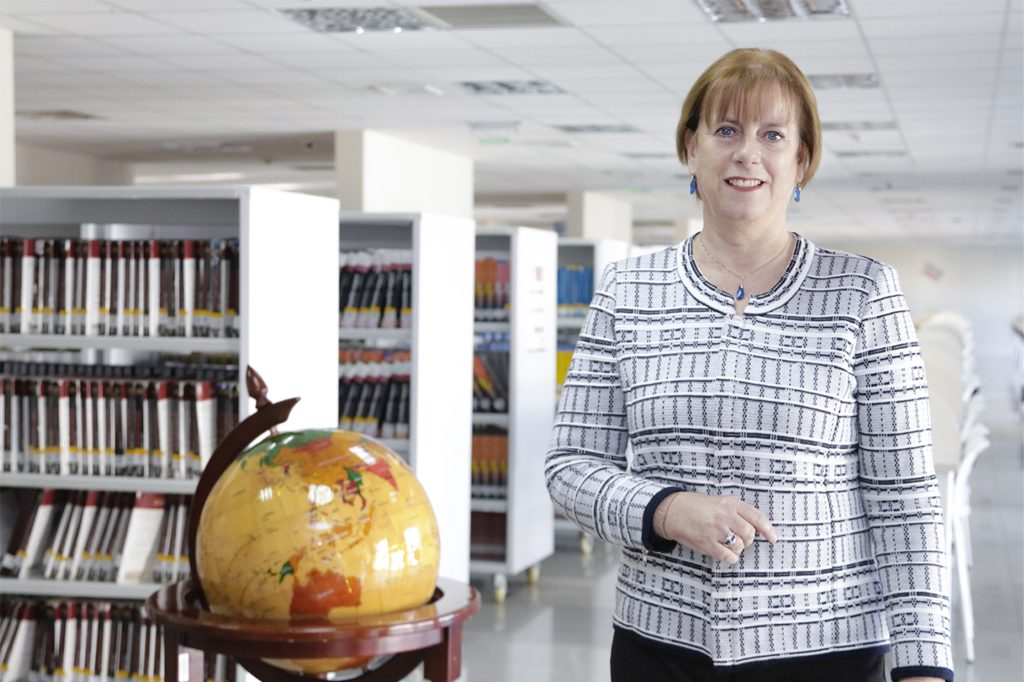 ANA MARÍA BUCHHOLZ, Directora de Pedagogía en Inglés (Concepción).