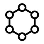 icono molécula admisión