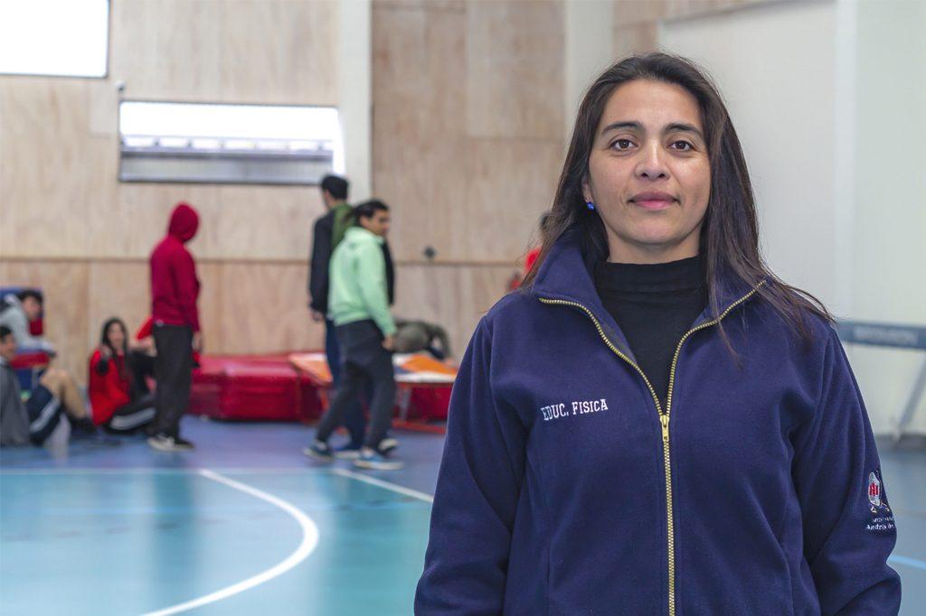 PAOLA BARBOSA, Directora de Pedagogía en Educación Física (Concepción).