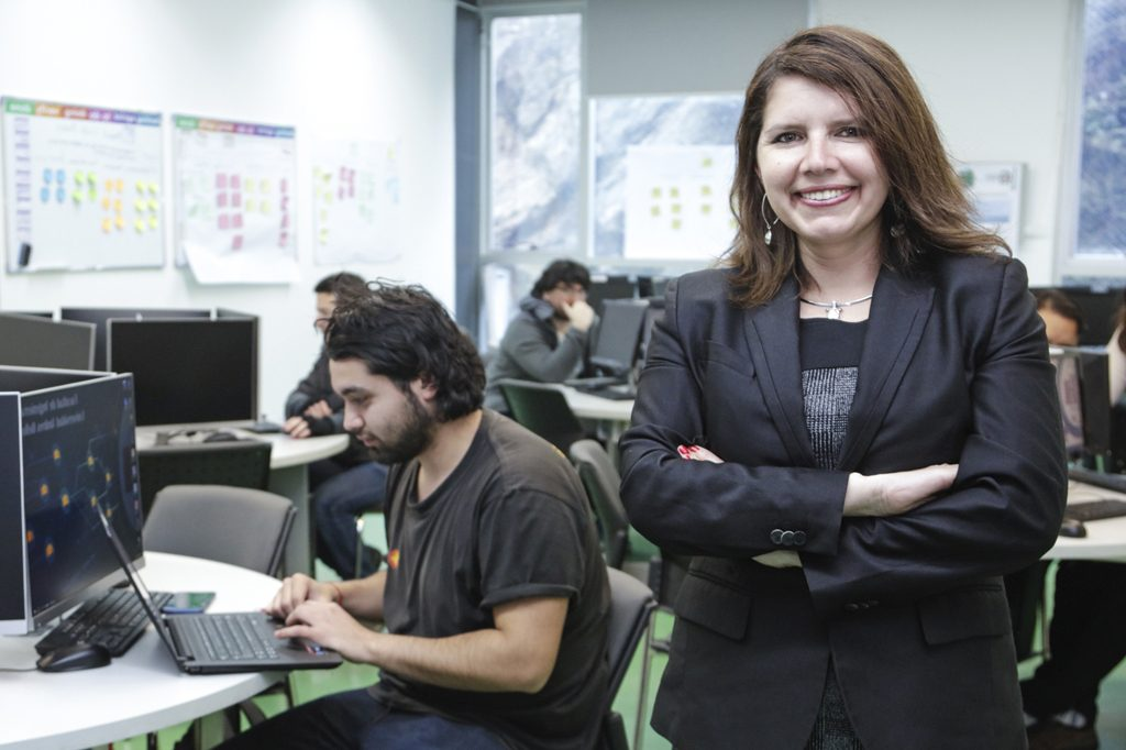 ROMINA TORRES, Directora de Ingeniería en Computación e Informática (Viña del Mar).
