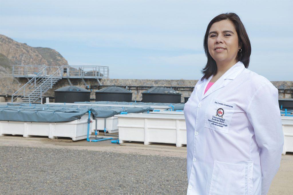 LORETTO CONTRERAS, Directora de Biología Marina (Santiago).