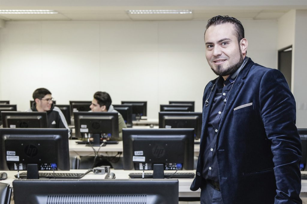 EDUARDO QUIROGA, Director de Ingeniería en Computación e Informática Vespertino (Santiago).