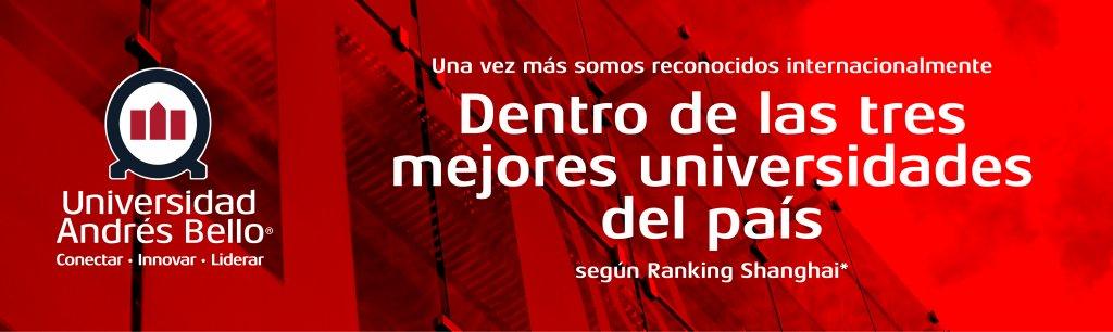 UNAB destaca dentro de las cuatro universidades chilenas en Ranking de Shanghai 2018